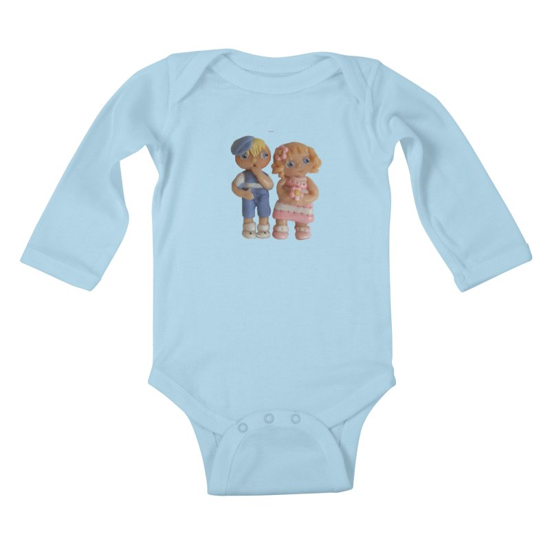 Best Friends Kids Baby Longsleeve Bodysuit by Dawnsdesigns's Artist Shop