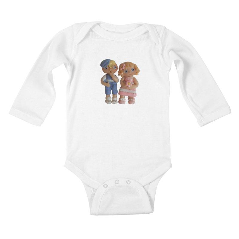Best Friends Kids Baby Longsleeve Bodysuit by Dawnsdesigns's Artist Shop
