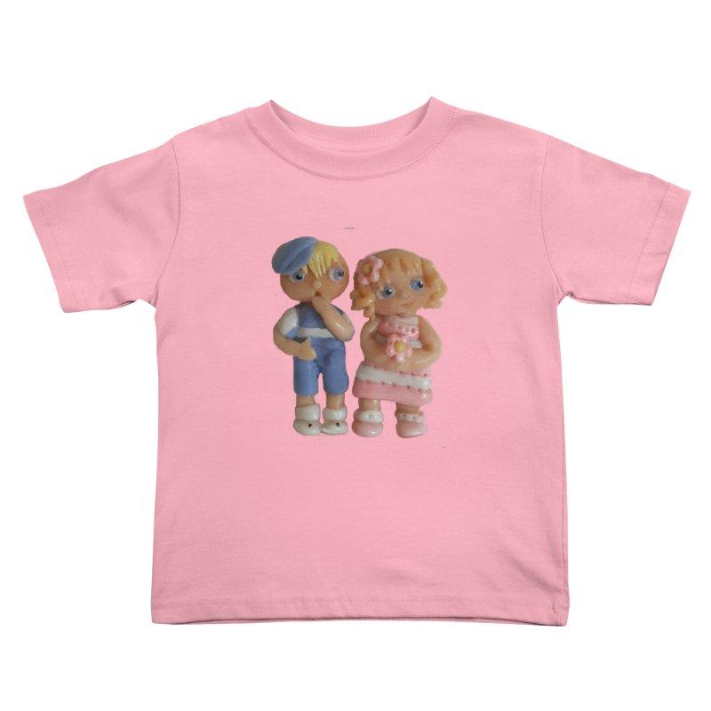 Best Friends Kids Toddler T-Shirt by Dawnsdesigns's Artist Shop