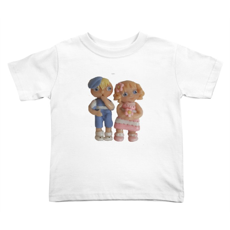 Best Friends Kids Toddler T-Shirt by Dawnsdesigns's Artist Shop