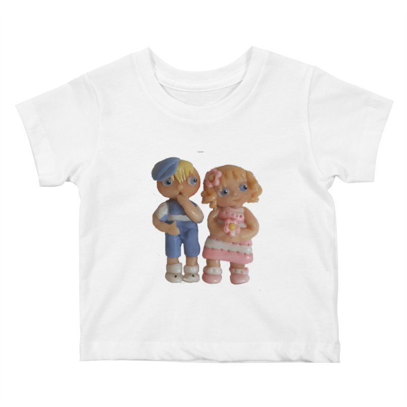 Best Friends Kids Baby T-Shirt by Dawnsdesigns's Artist Shop