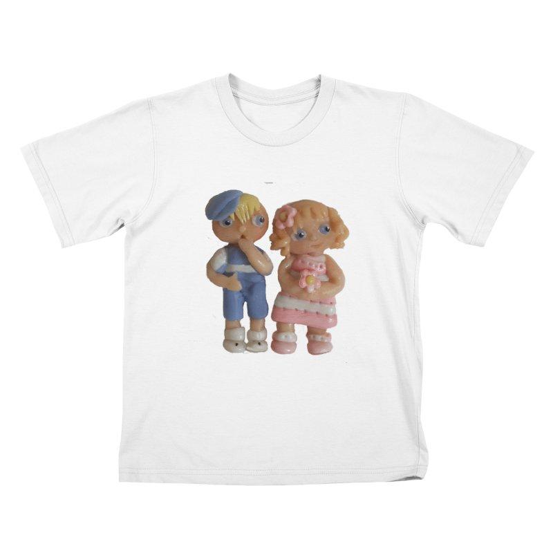 Best Friends Kids T-shirt by Dawnsdesigns's Artist Shop