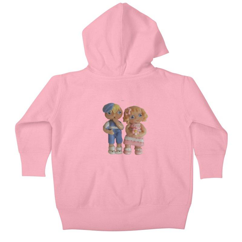 Best Friends Kids Baby Zip-Up Hoody by Dawnsdesigns's Artist Shop