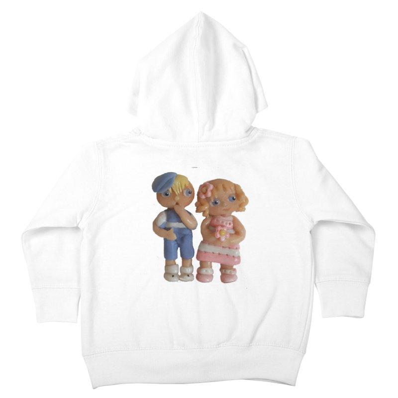 Best Friends Kids Toddler Zip-Up Hoody by Dawnsdesigns's Artist Shop