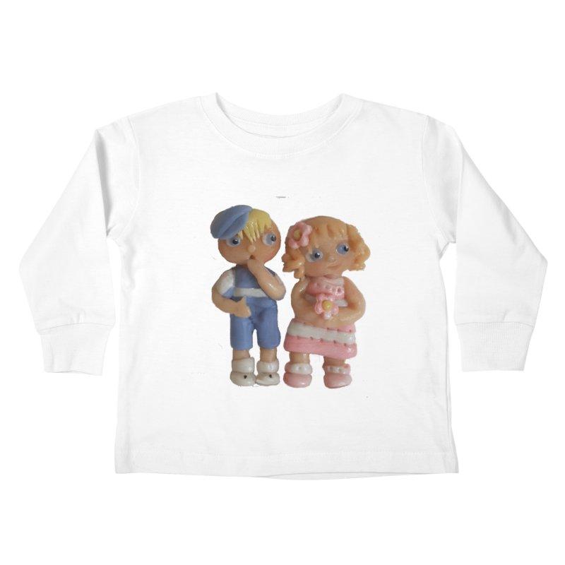 Best Friends Kids Toddler Longsleeve T-Shirt by Dawnsdesigns's Artist Shop