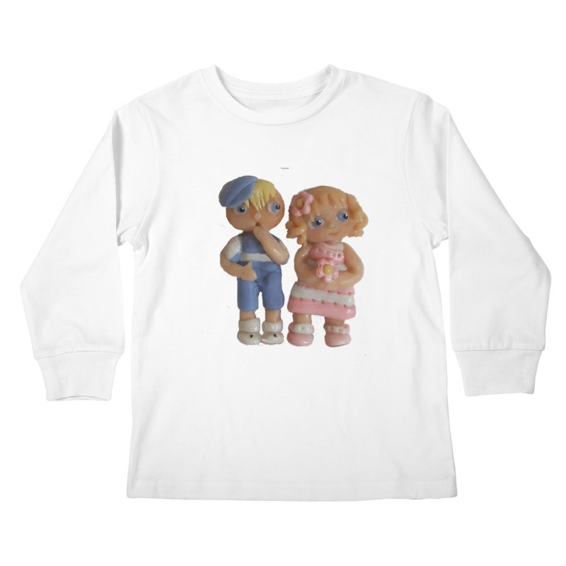 Best Friends Kids Longsleeve T-Shirt by Dawnsdesigns's Artist Shop