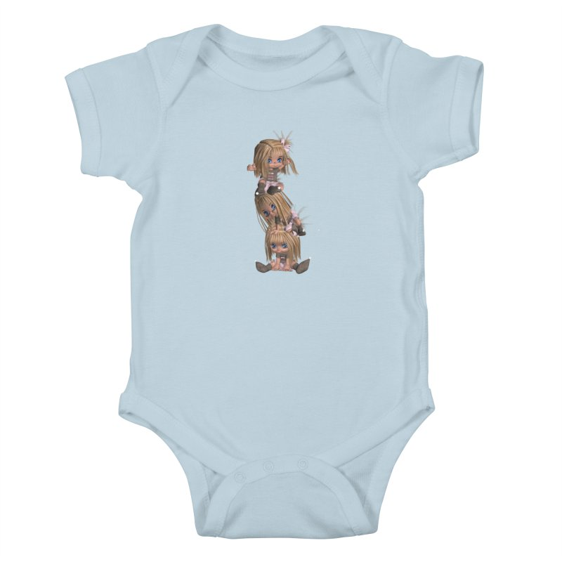 Keep Still Kids Baby Bodysuit by Dawnsdesigns's Artist Shop