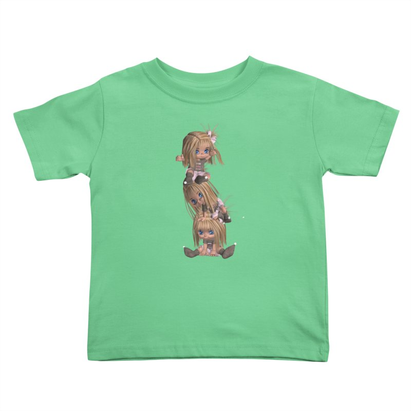 Keep Still Kids Toddler T-Shirt by Dawnsdesigns's Artist Shop