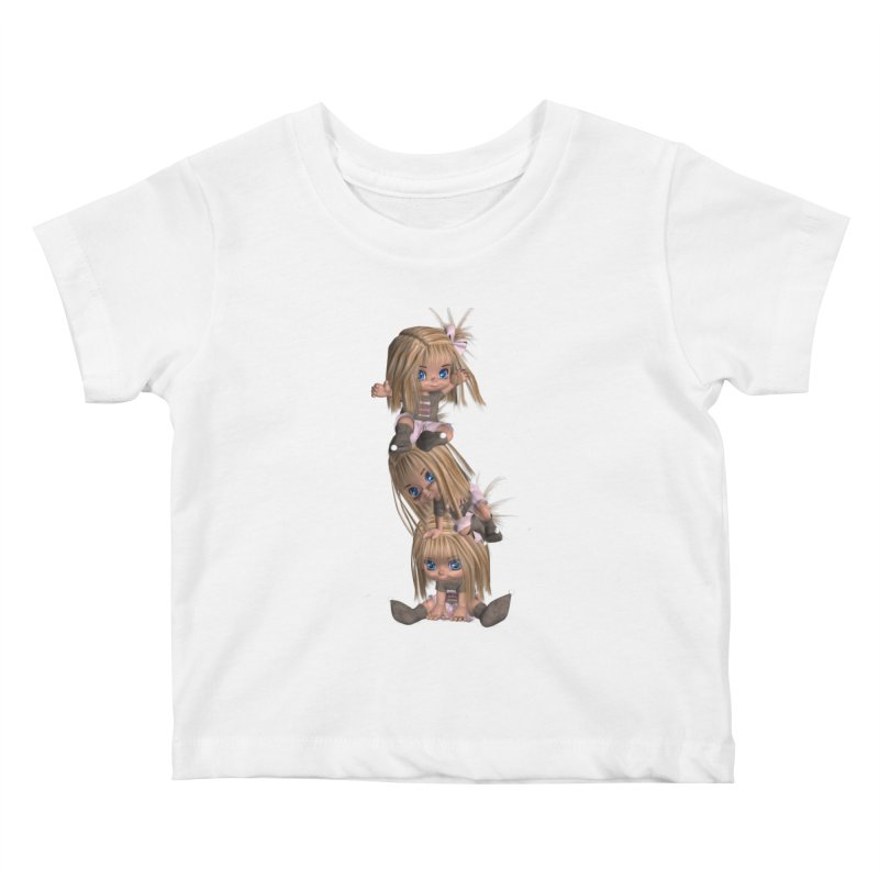 Keep Still Kids Baby T-Shirt by Dawnsdesigns's Artist Shop