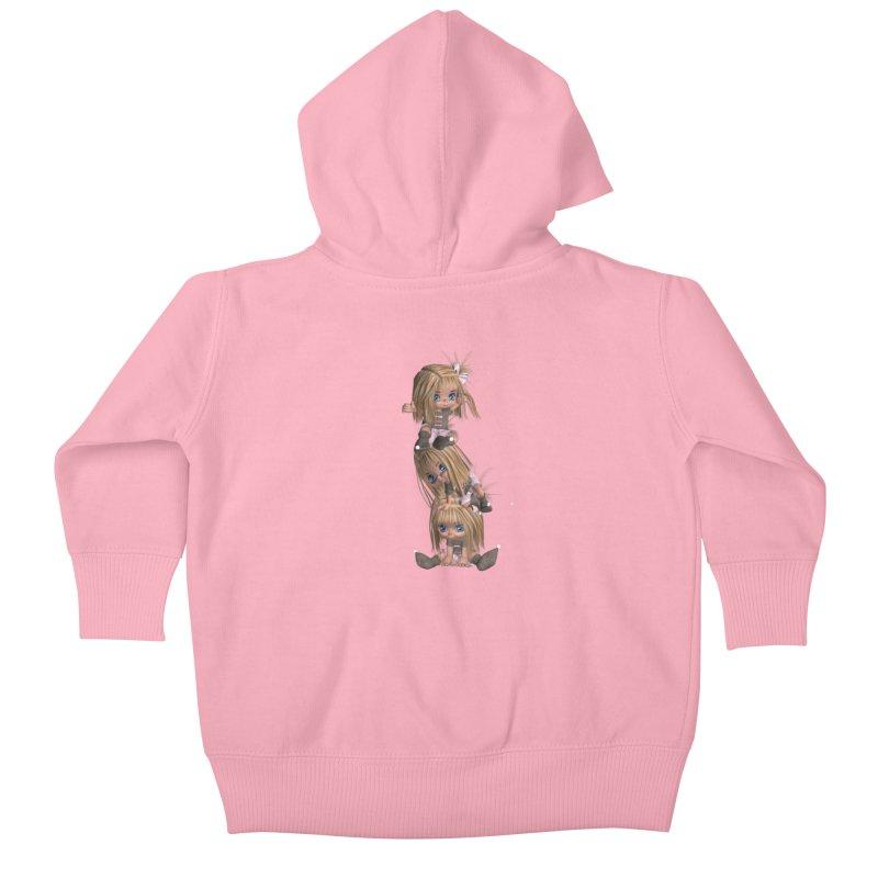 Keep Still Kids Baby Zip-Up Hoody by Dawnsdesigns's Artist Shop