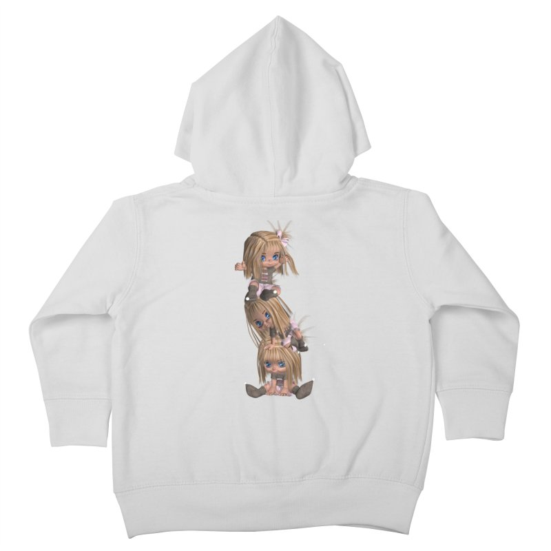 Keep Still Kids Toddler Zip-Up Hoody by Dawnsdesigns's Artist Shop
