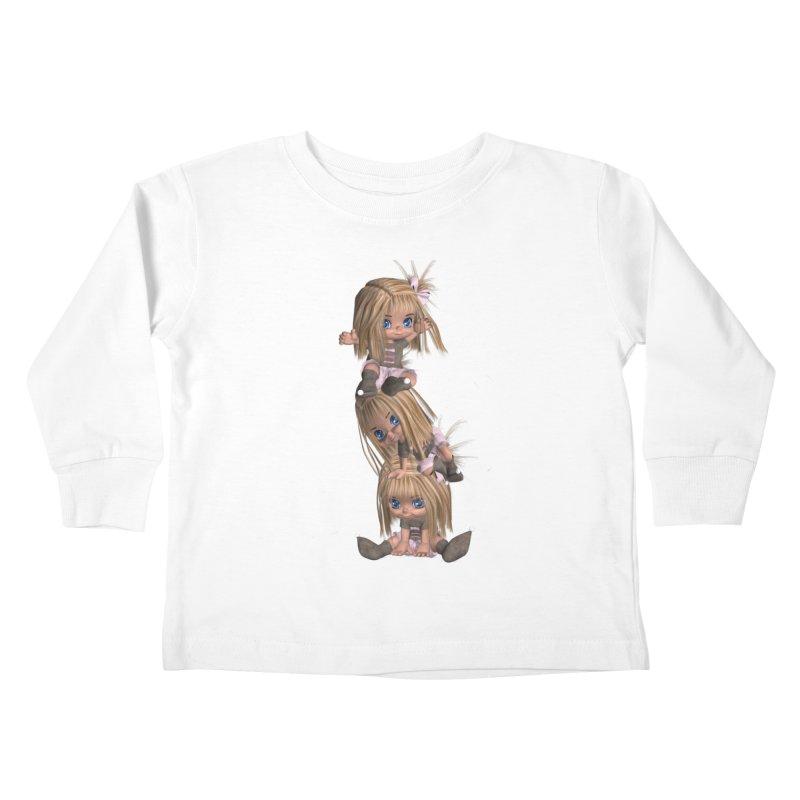 Keep Still Kids Toddler Longsleeve T-Shirt by Dawnsdesigns's Artist Shop