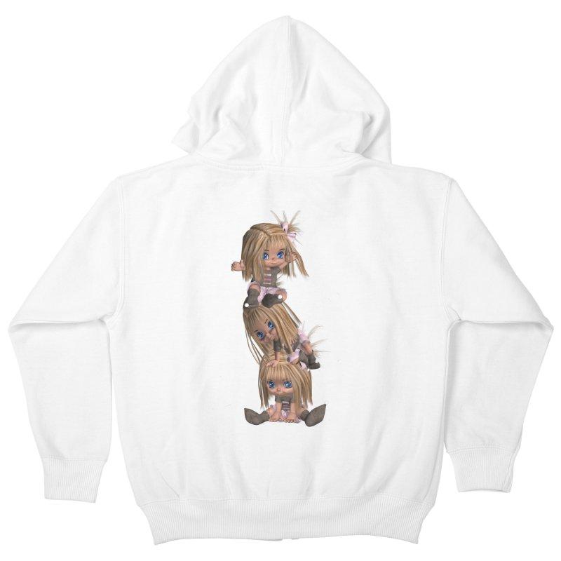Keep Still Kids Zip-Up Hoody by Dawnsdesigns's Artist Shop