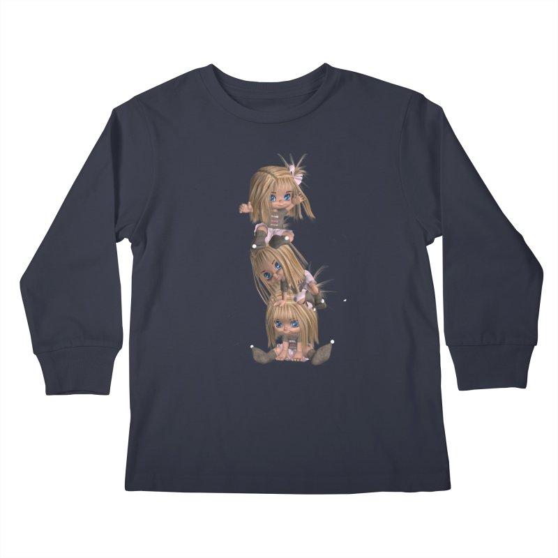 Keep Still Kids Longsleeve T-Shirt by Dawnsdesigns's Artist Shop