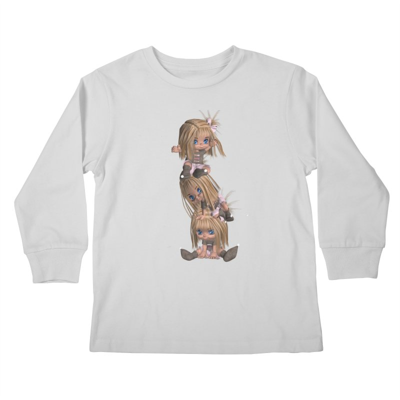 Keep Still Kids Longsleeve T-Shirt by Dawnsdesigns's Artist Shop