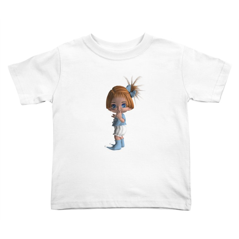 ssshh Kids Toddler T-Shirt by Dawnsdesigns's Artist Shop