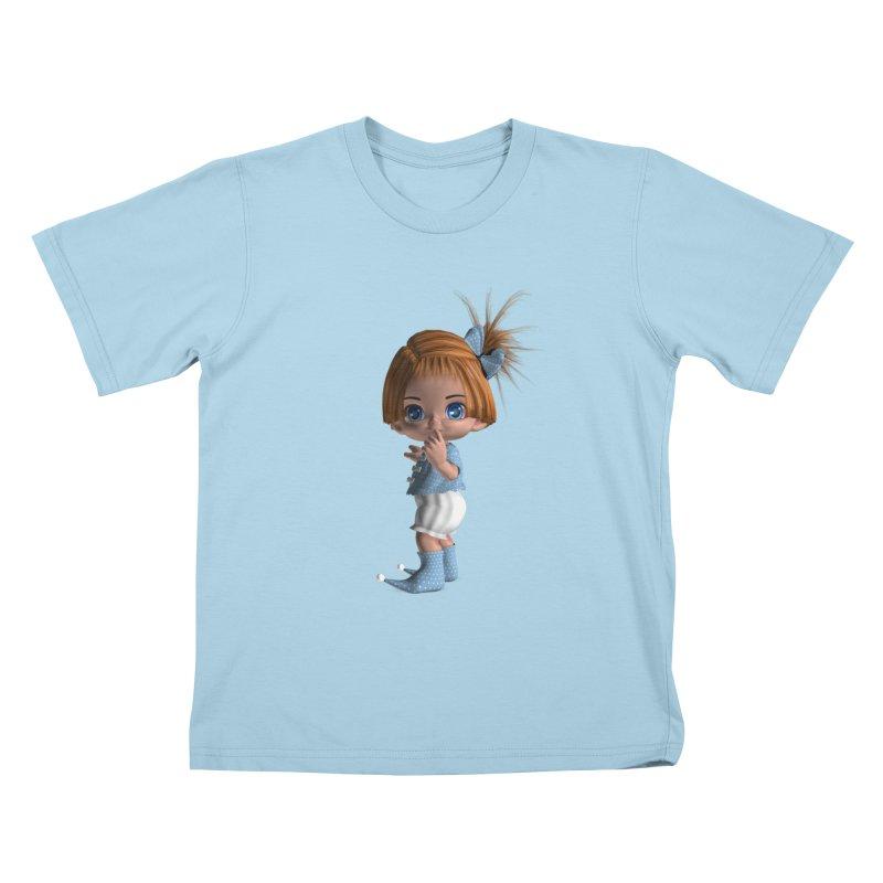 ssshh Kids T-Shirt by Dawnsdesigns's Artist Shop