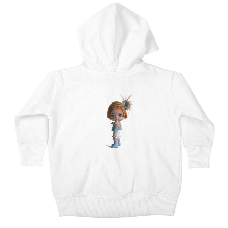 ssshh Kids Baby Zip-Up Hoody by Dawnsdesigns's Artist Shop