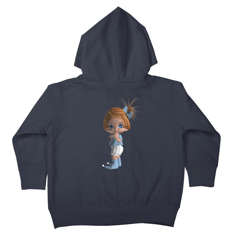 ssshh Kids Toddler Zip-Up Hoody by Dawnsdesigns's Artist Shop