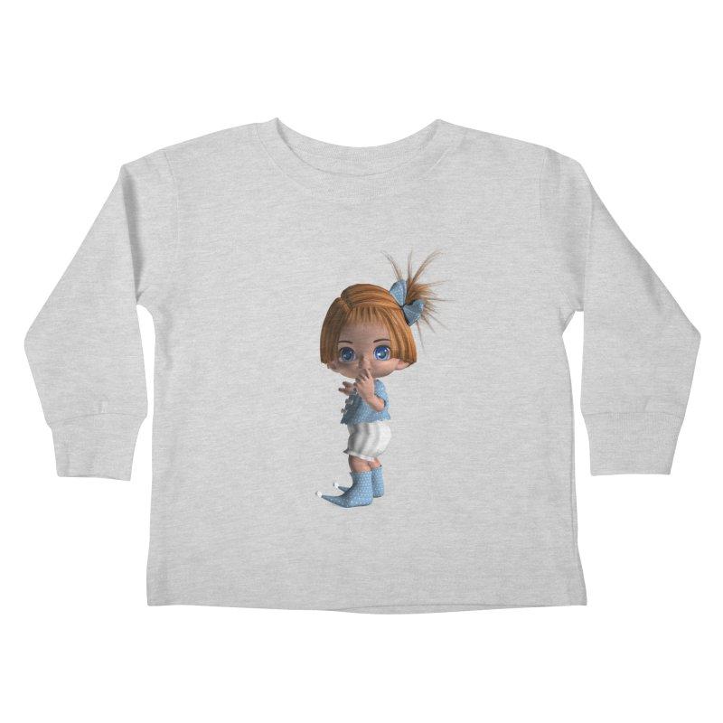 ssshh Kids Toddler Longsleeve T-Shirt by Dawnsdesigns's Artist Shop