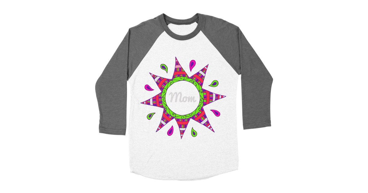Day007 Happy Birthday Mom Womens Baseball Triblend T Shirt