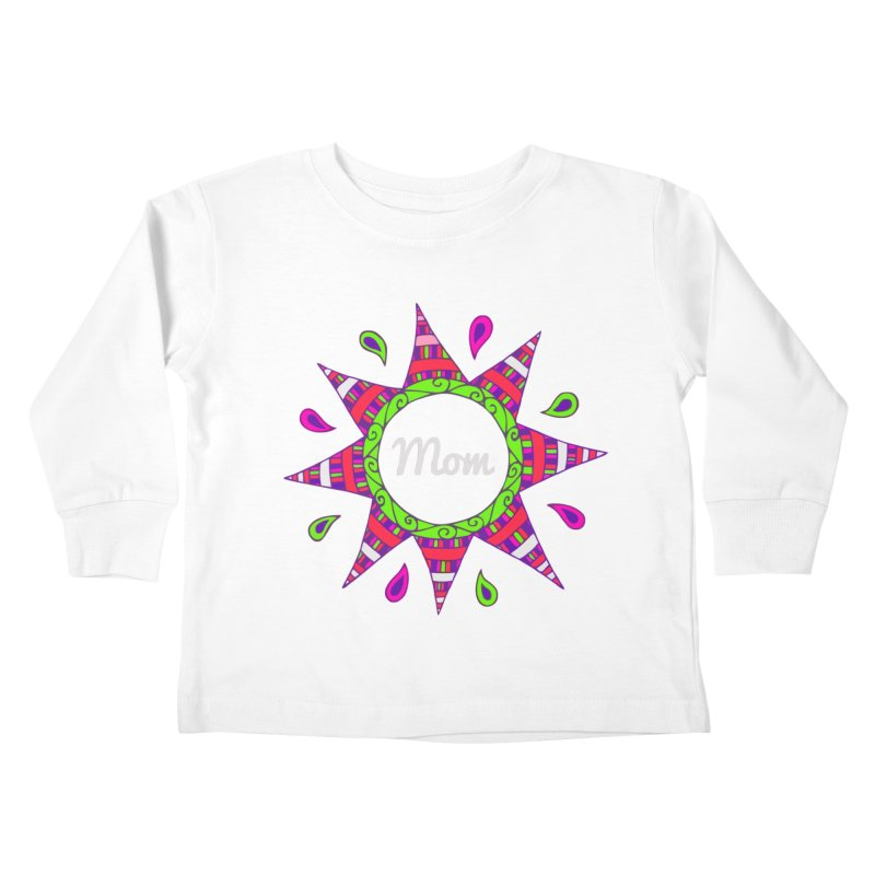 Day007 Happy Birthday Mom Kids Toddler Longsleeve T Shirt