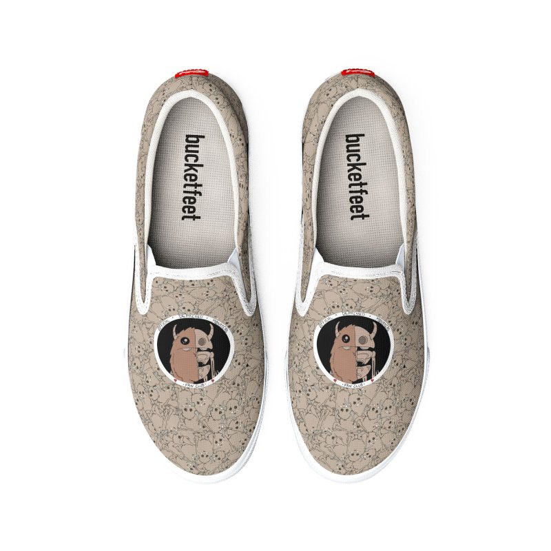 Circle Fan Club Men's Shoes by Depressed Monsters