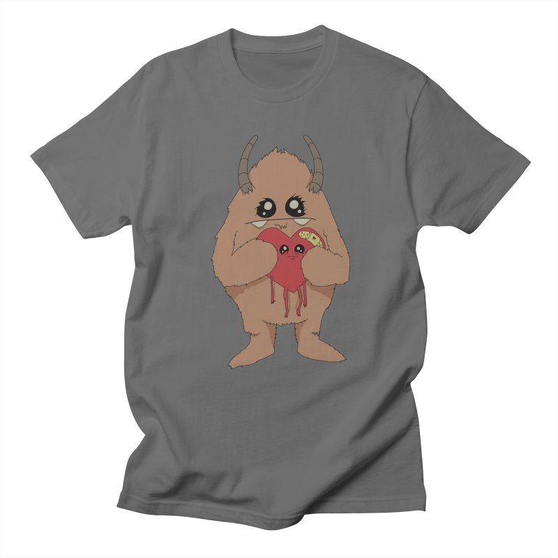 Yerman Heart Men's T-Shirt by Depressed Monsters