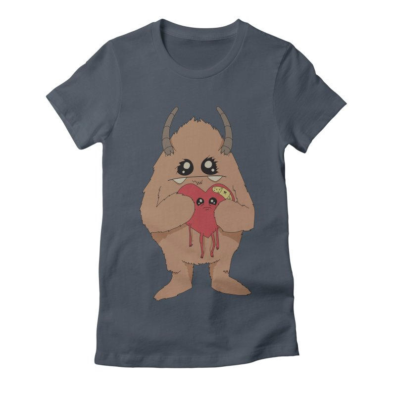Yerman Heart Women's T-Shirt by Depressed Monsters