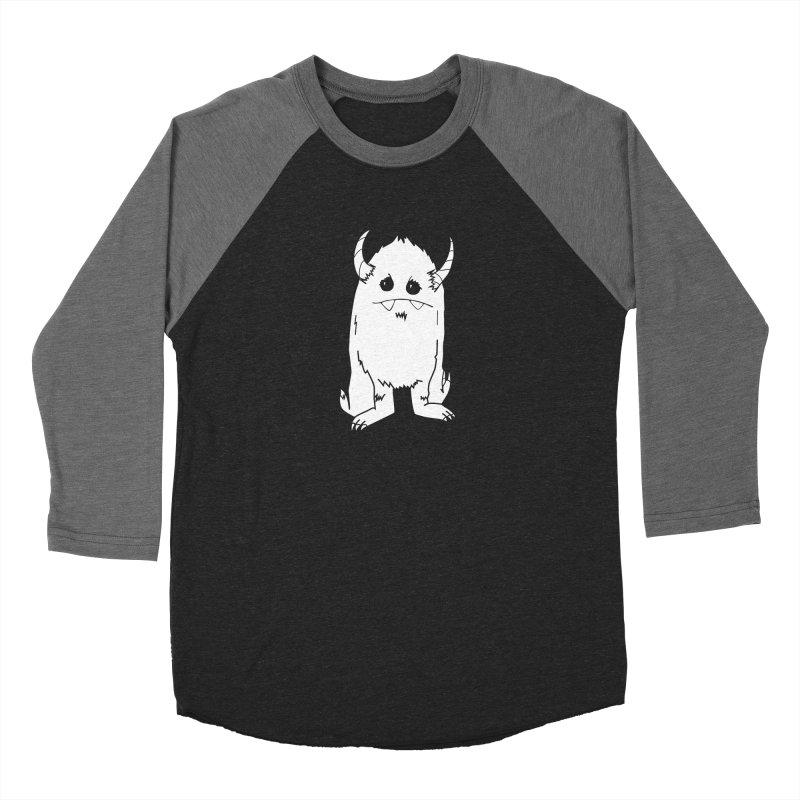 White Yerman Women's Longsleeve T-Shirt by Depressed Monsters