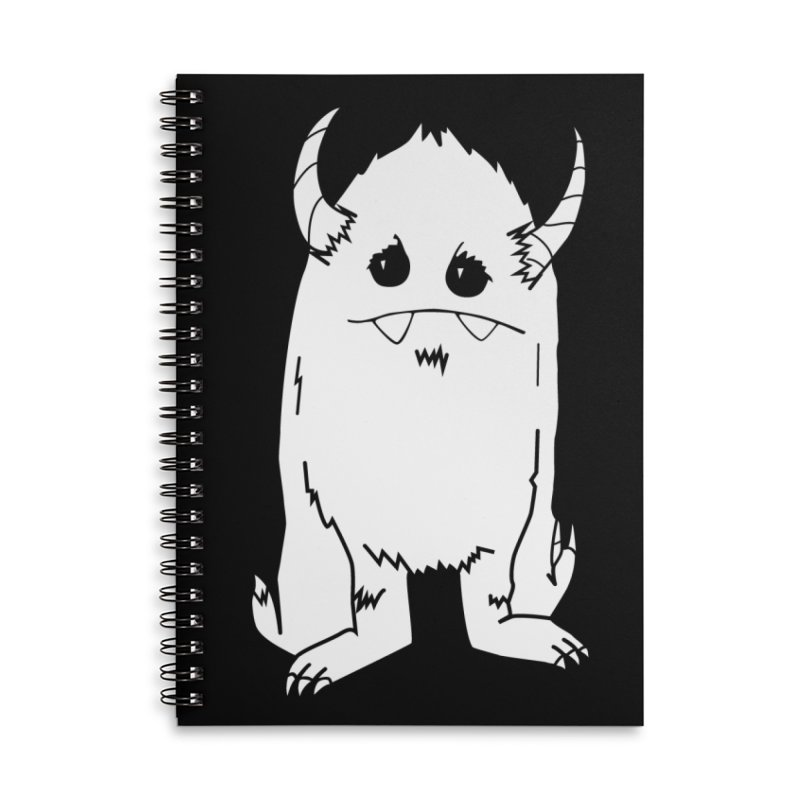 White Yerman Accessories Notebook by Depressed Monsters