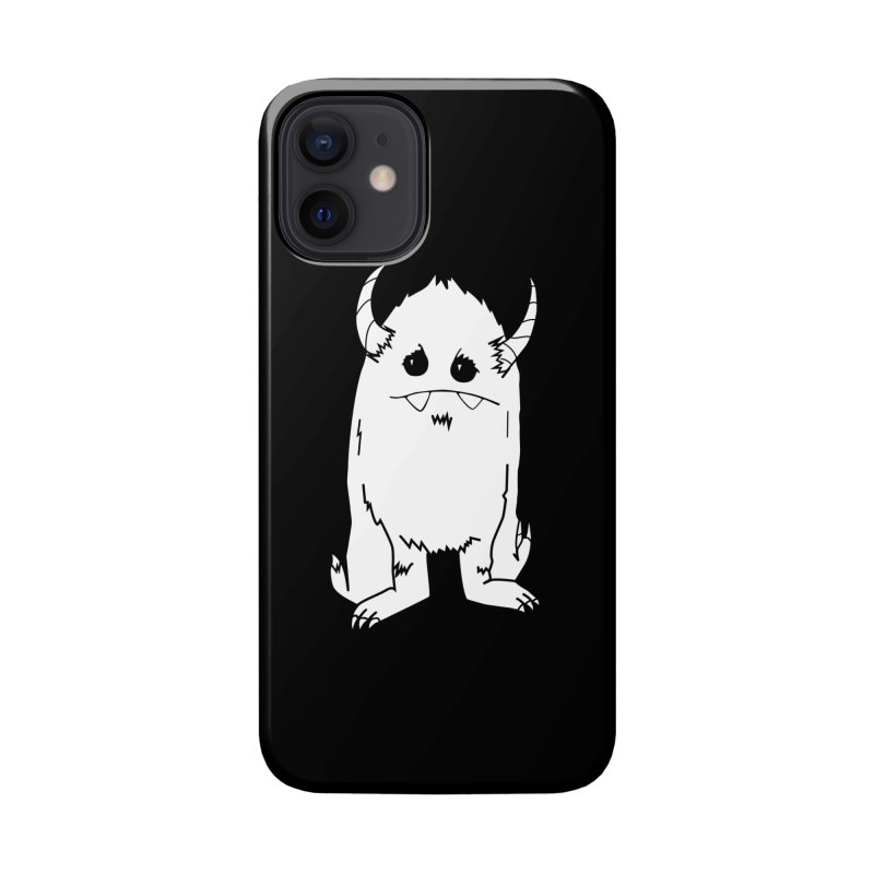 White Yerman Accessories Phone Case by Depressed Monsters
