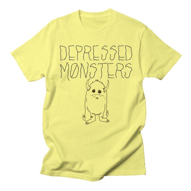 Depressed Monsters Men's T-Shirt by Depressed Monsters