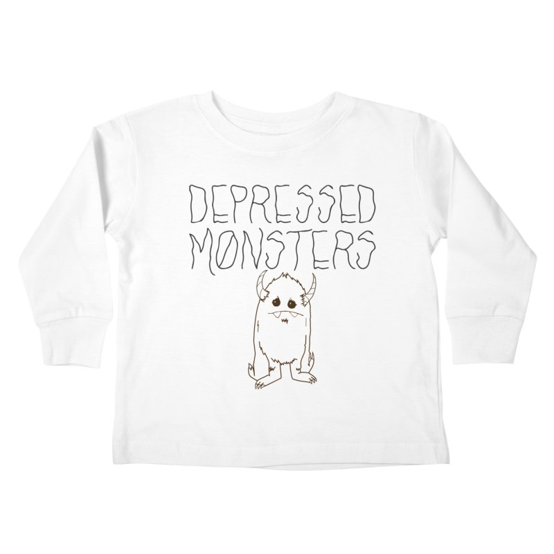 Depressed Monsters Kids Toddler Longsleeve T-Shirt by Depressed Monsters