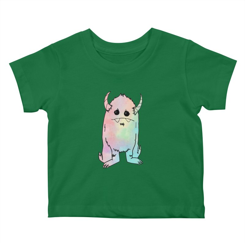 Pastel Yerman Kids Baby T-Shirt by Depressed Monsters