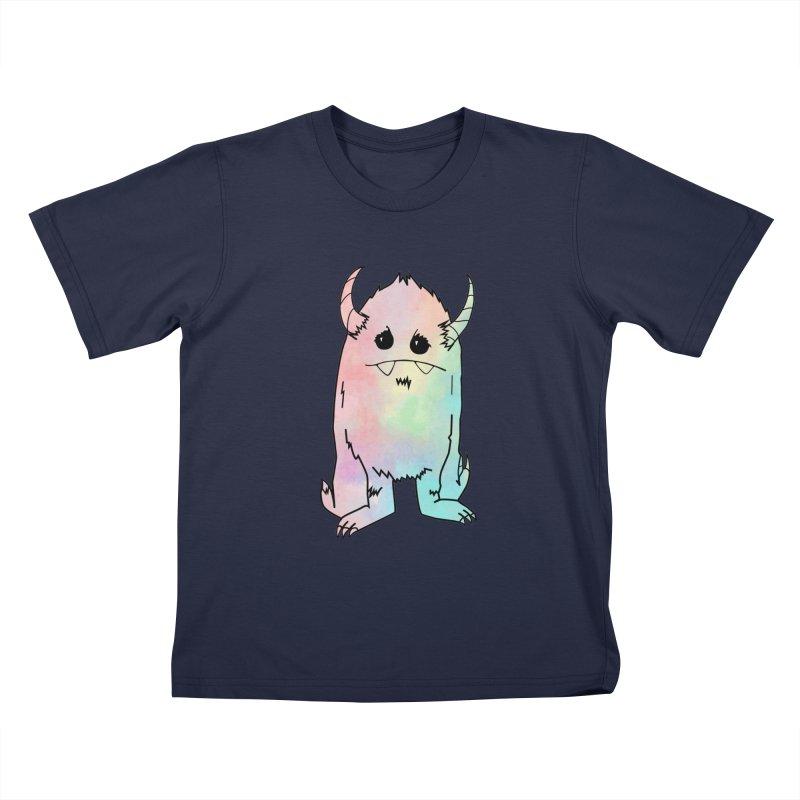 Pastel Yerman Kids T-Shirt by Depressed Monsters