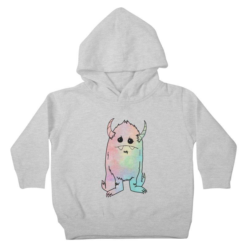 Pastel Yerman Kids Toddler Pullover Hoody by Depressed Monsters