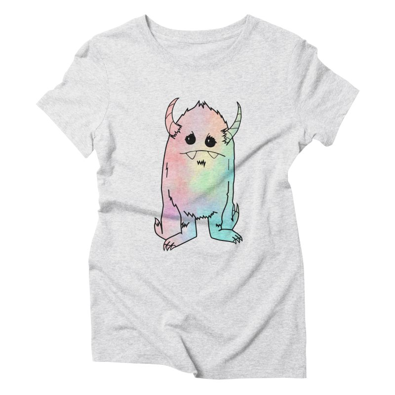 Pastel Yerman Women's T-Shirt by Depressed Monsters