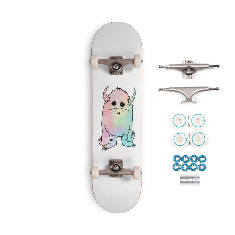 Pastel Yerman Accessories Skateboard by Depressed Monsters