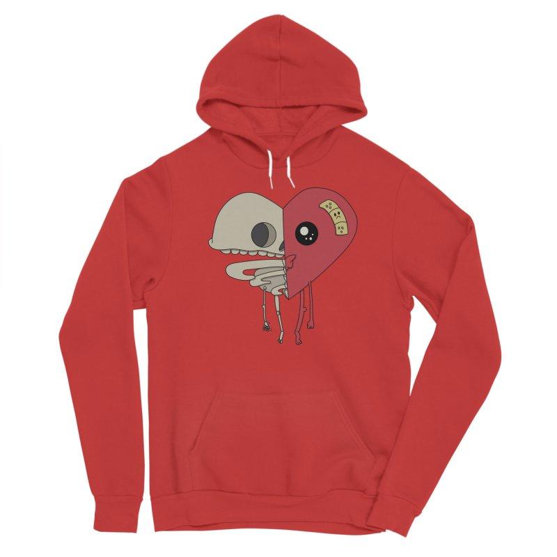 Skele Heart Women's Pullover Hoody by Depressed Monsters