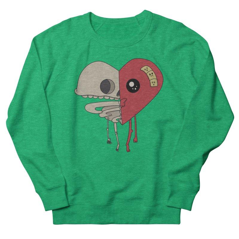 Skele Heart Women's Sweatshirt by Depressed Monsters