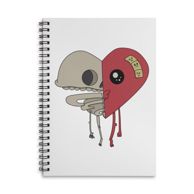 Skele Heart Accessories Notebook by Depressed Monsters