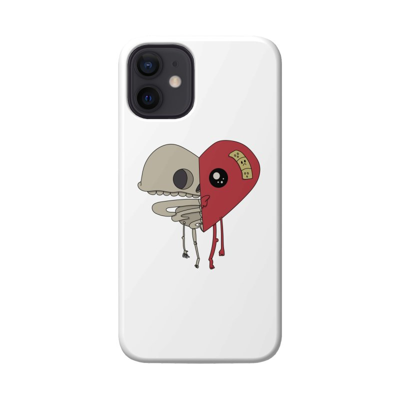 Skele Heart Accessories Phone Case by Depressed Monsters