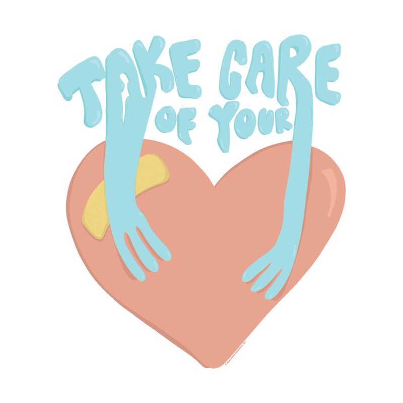 Take Care Of Your Heart© Kids Toddler Pullover Hoody by Depressed Monsters