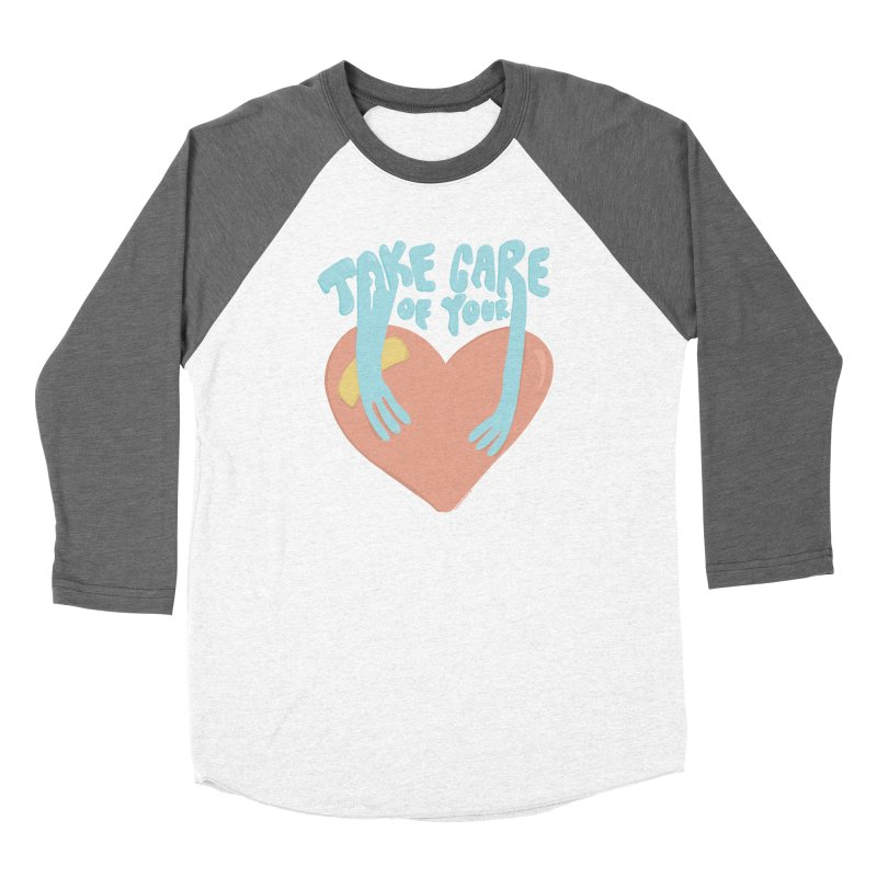 Take Care Of Your Heart© Women's Longsleeve T-Shirt by Depressed Monsters