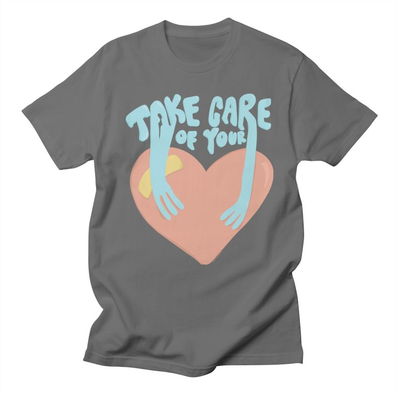 Take Care Of Your Heart© Men's T-Shirt by Depressed Monsters