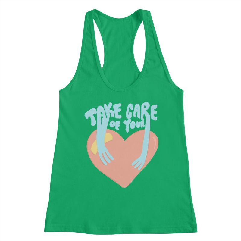 Take Care Of Your Heart© Women's Tank by Depressed Monsters
