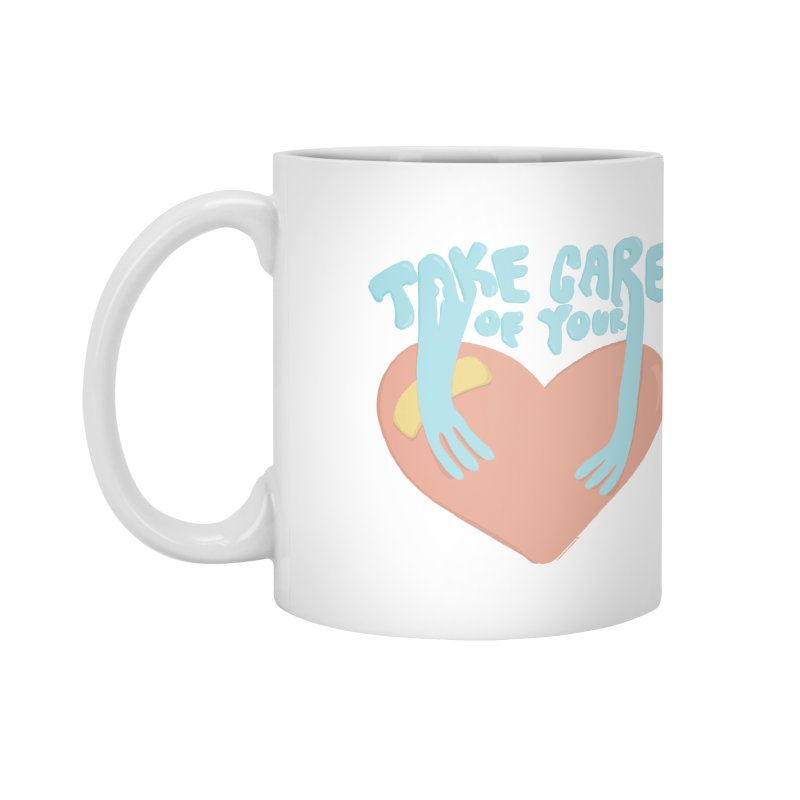 Take Care Of Your Heart© Accessories Mug by Depressed Monsters