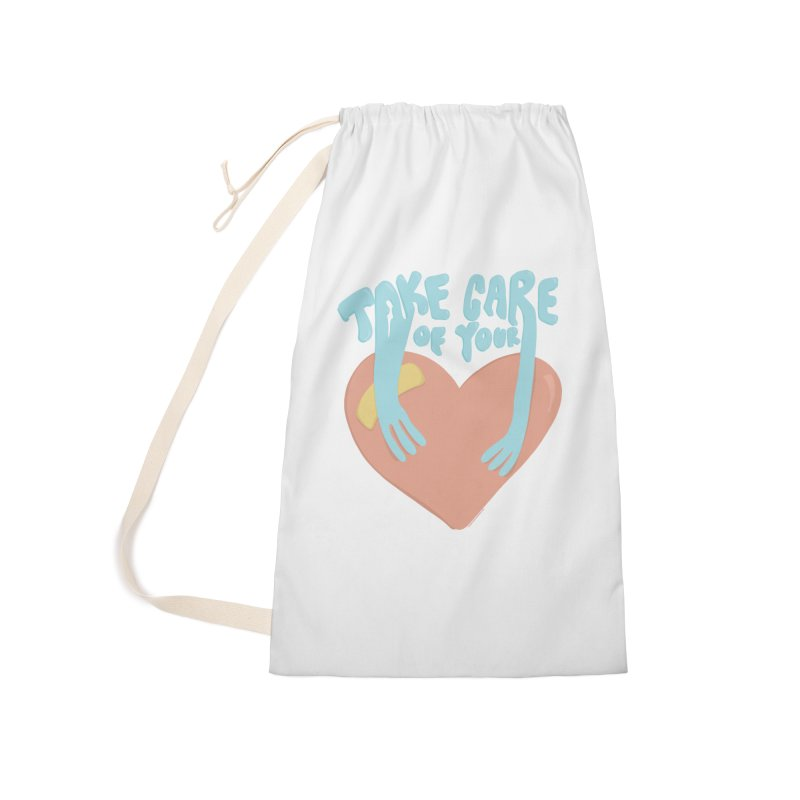 Take Care Of Your Heart© Accessories Bag by Depressed Monsters