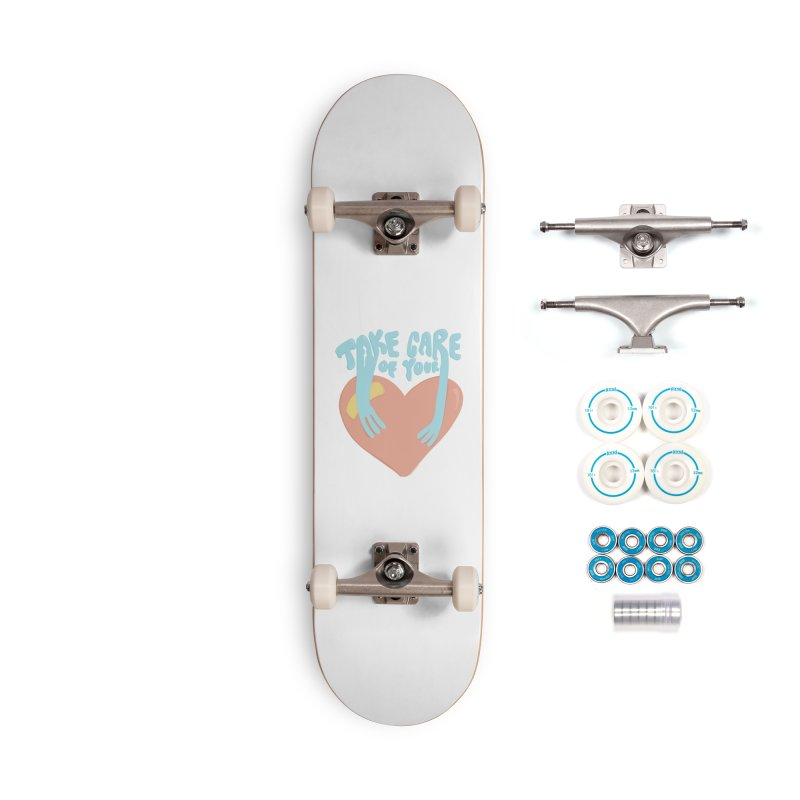 Take Care Of Your Heart© Accessories Skateboard by Depressed Monsters